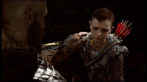 God of War Atreus Intro