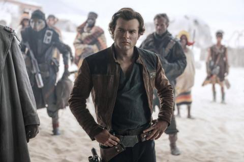 The new Han Solo accidentally revealed he's signed on for 3 'Star Wars' movies