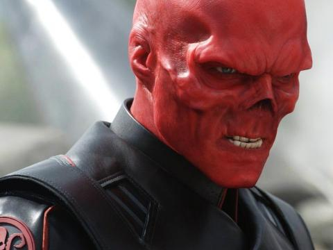 """Red Skull is the villain in """"Captain America: The First Avenger,"""" and he's interested in one of the Infinity Stones."""