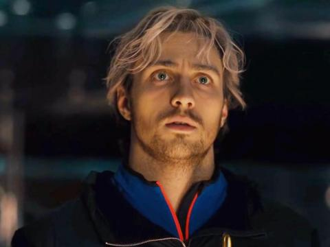 20. Quicksilver/Pietro Maximoff — played by Aaron Taylor Johnson