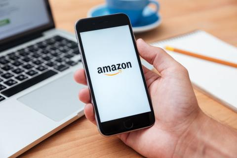 Aplicación de Amazon en el iPhone
