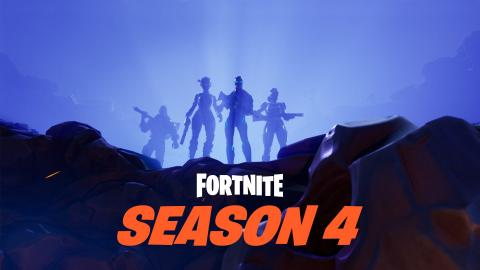 Fortnite Battle Royale - Temporada 4