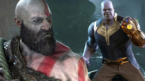 God of War Avengers Inifinity War