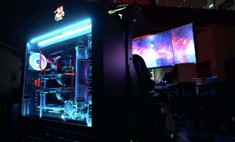 PC gaming de Unbox Therapy - esports