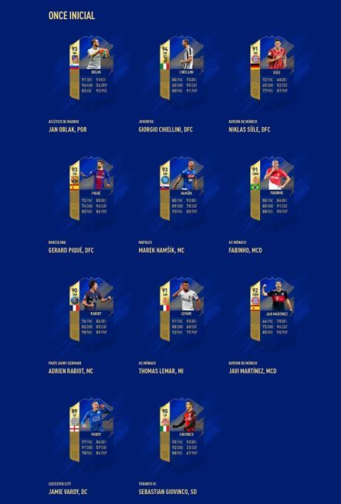 TOTS FIFA 18 - esports
