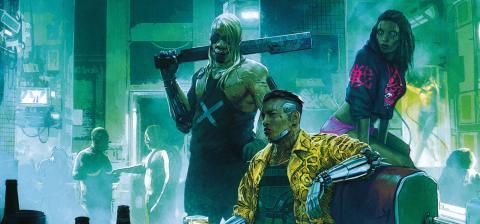Cyberpunk 2077 demo personajes