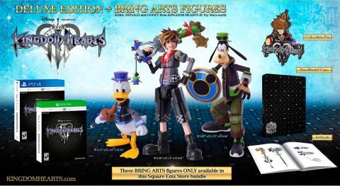 Edición especial de Kingdom Hearts III
