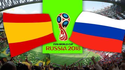 España vs Rusia