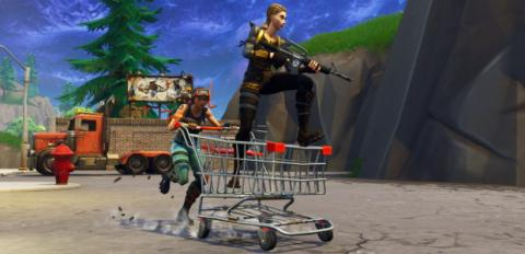 Fortnite Battle Royale - Carrito de la compra