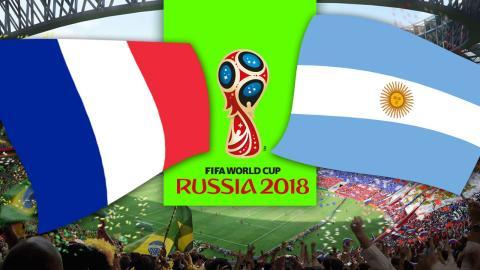 Francia vs Argentina
