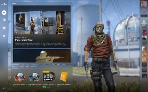 Panorama View CS:GO - esports