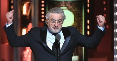 Robert De Niro Premios Tony 2018