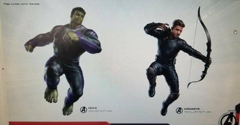 Vengadores 4 Hulk y Ojo de Halcón