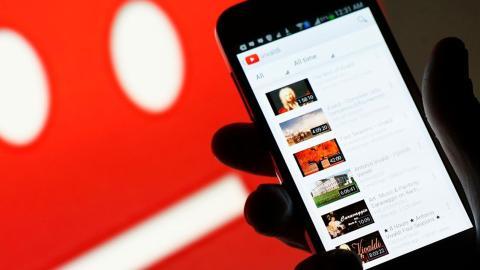 YouTube interfaz