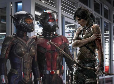 Ant-Man y Tomb Raider