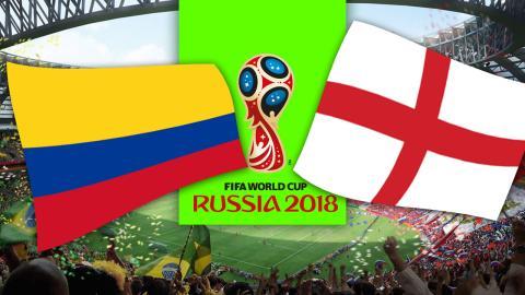Colombia vs Inglaterra