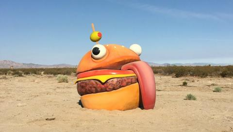 Durrr Burger Fortnite Battle Royale