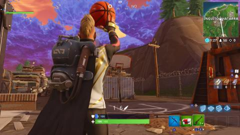 Fortnite Basket Apertura
