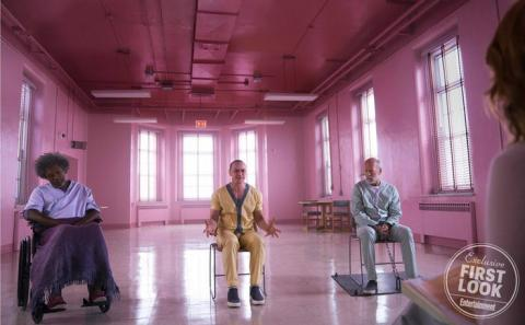 Glass - Samuel L. Jackson, James McAvoy y Bruce Willis