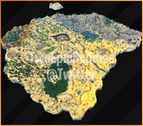Fortnite mapa temporada 5