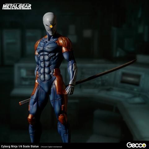 Gray Fox Cyborg Ninja Metal Gear SOlid