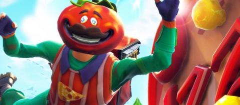 Fortnite Battle Royale - Cabeza de tomate