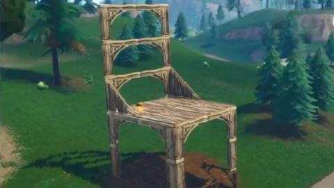 Fortnite sillas