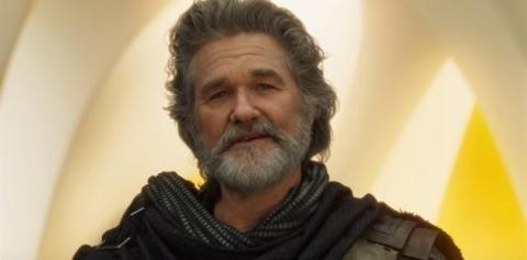 Kurt Russell como Ego en Guardianes de la Galaxia Vol.2