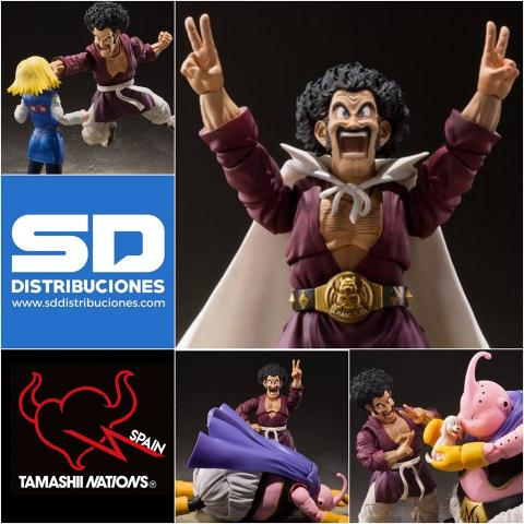 Mr. Satán SH Figuarts SD Distribuciones Tamashii Nations