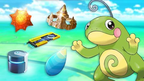 Pokémon GO items evolución