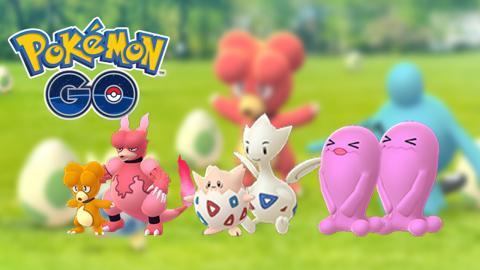 Pokémon Go variocolor