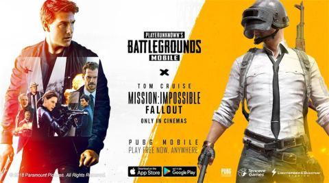 PUBG Mobile x Mision Imposible Fallout
