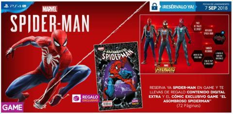 Spider-Man para PS4 en GAME