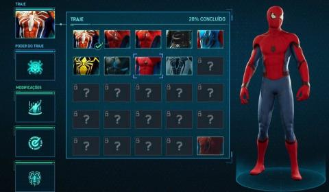Spider-Man para PS4 - Trajes filtrados