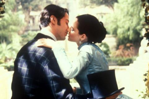 Winona Ryder y Keanu Reeves Drácula