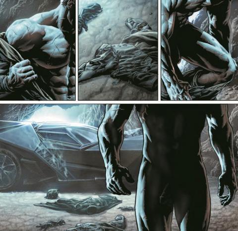 Batman desnudo integral
