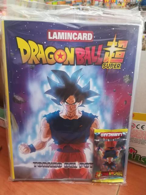Dragon Ball Super lamincards