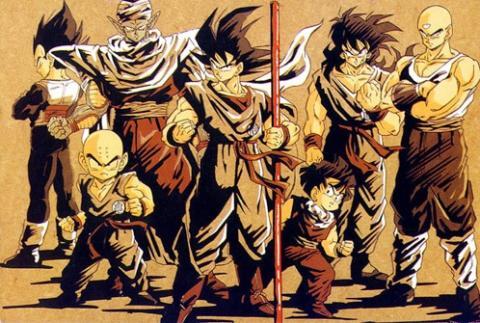 Dragon Ball Z grupo