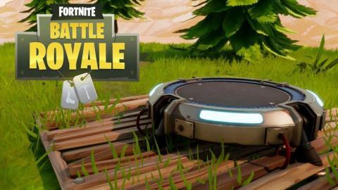 Fortnite Battle Royale - Plataforma de lanzamiento