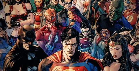 Héroes DC de luto
