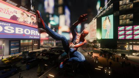 Spiderman PS4 modo foto