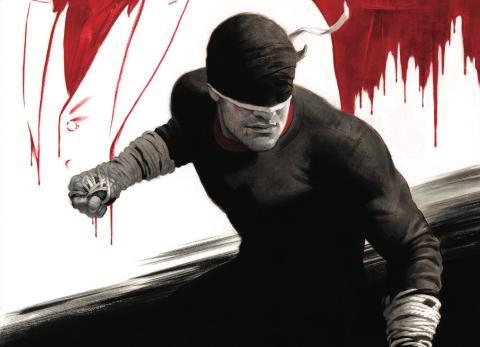 Póster Daredevil con Kingpin
