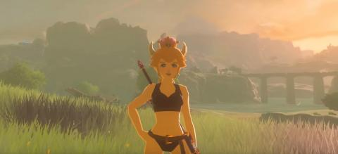 Bowsette Breath of the Wild