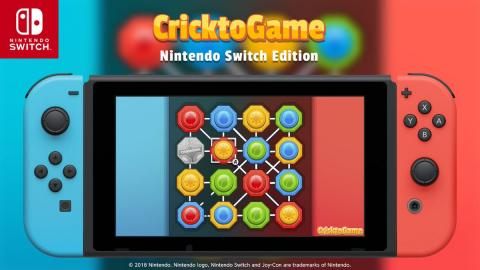 Cricktogame Switch