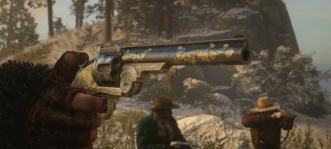 Red Dead Redemption 2 armas