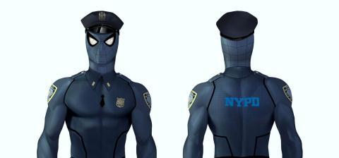 Spiderman PS4 Spider-Poli