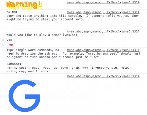 juego secreto google