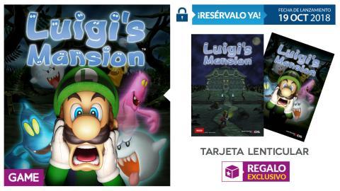 Luigi's Mansion en GAME