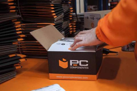Preparando envío PcComponentes