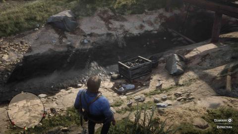Puntos interés y chozas Red Dead Redemption 2